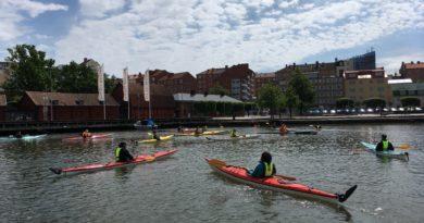 Prova på paddling med Friskis & Svettis