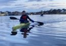 Första onsdagsträningen på vatten